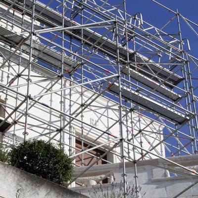 Iznajmljivanje visesmernih gradjevinskih skela