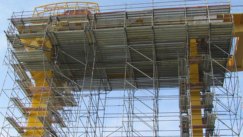 Montiranje pokretnih radnih platformi