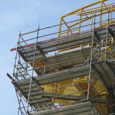 Montiranje stabilnih radnih platformi